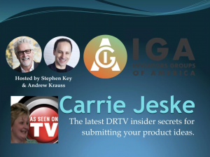 <h3><strong>DRTV Insider Secrets with Carrie Jeske</strong></h3>