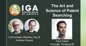 <h3><strong>The Art & Science of Patent Searching</strong></h3>