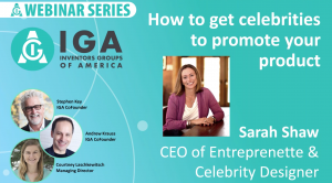 <h3><strong>How to get celebrities to promote your product, with Sarah Shaw!</strong></h3>