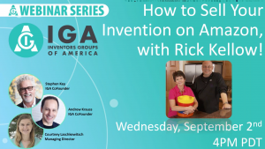 <h3><strong>How to Sell Your Invention on Amazon, with Rick Kellow!</strong></h3>