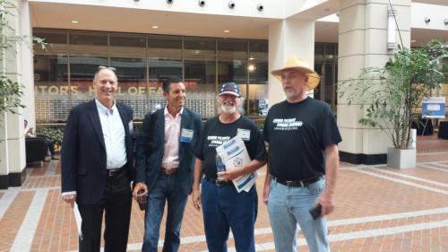 Warren Tuttle, Louis Foreman, Adrian Pelkus, and Paul Morinville