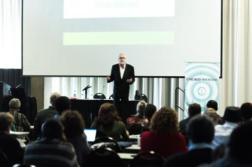 Stephen Key speaks at the 7th Annual Chicago Inventors Conference