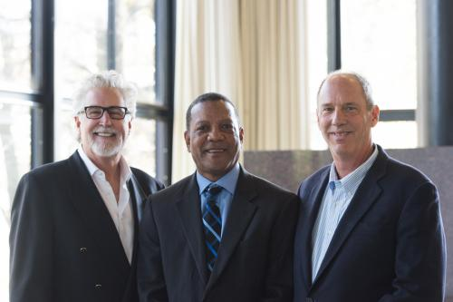 Stephen Key, Calvin Flowers, and Warren Tuttle at the 7th Annual Chicago Inventors Conference