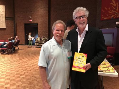 Jeffrey Dobkin, Emeritus President-American Society of Inventors Philadelphia and Stephen Key, April 12, 2017