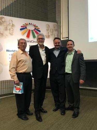 Inventors Circle Toronto: David Fedewa chief negotiator at inventRight and Michigan inventors coalition Board member, Bob HuybrechtsFounder and chairman of business development, Frank D'Urzo, Treasurer