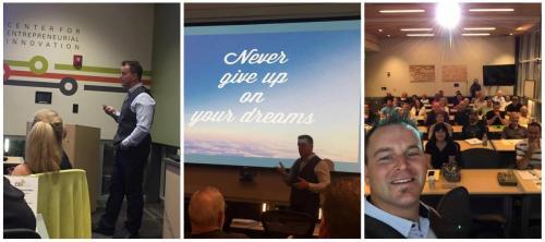 Ryan Stewart With Arizona Inventors Association in Phoenix